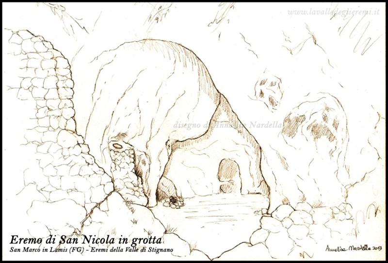 Eremo di San Nicola in grotta  sul Gargano