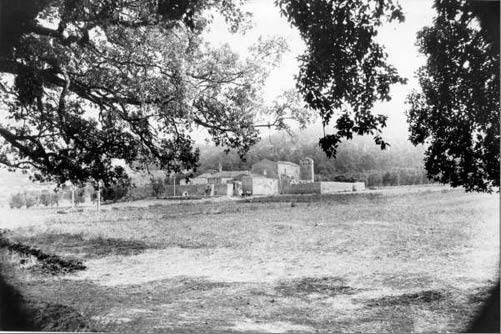 Santa Maria di Calena in una foto degli anni '60 di Romano Conversano