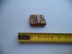 Ceramica ritrovata nel canale dei San Nicola